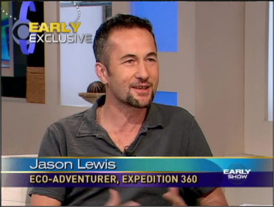 Adventure television - explorer Jason Lewis on CBS This Morning